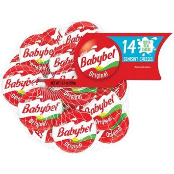 Mini Babybel Original Semisoft Cheeses - 14ct