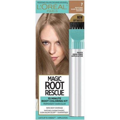 L'Oreal Paris Root Rescue Permanent Hair Color - 7 Dark Blonde