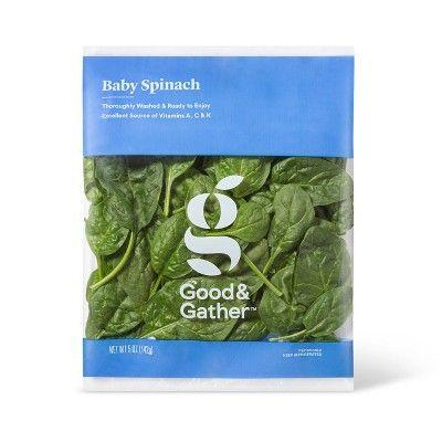 Good & Gather Baby Spinach - 5oz