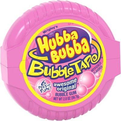 Hubba Bubba Awesome Original Bubble Tape Gum 6' - 2oz