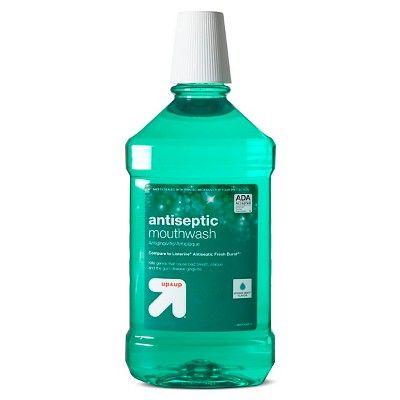 Antiseptic Mouthwash Green Mint - 50.7 fl oz - Up&Up™