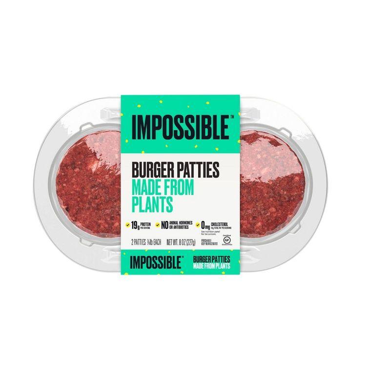 Impossible Burger Patties - 8oz