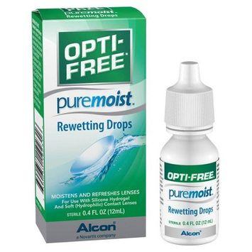 Opti-Free Pure Moist Rewetting Drops - 0.4 fl oz