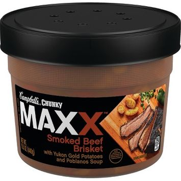 Campbell's Chunky MAXX Smoked Beef Brisket with Yukon Gold Potatoes and Poblanos Soup - 15.5oz