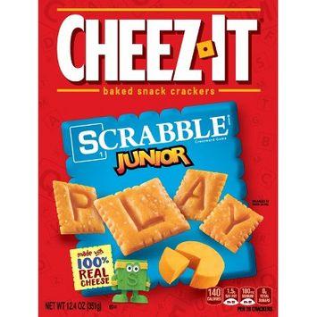 Cheez-It Scrabble Junior Baked Snack Crackers - 12.4oz