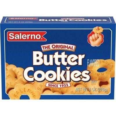 Salerno The Original Butter Cookies - 8 oz