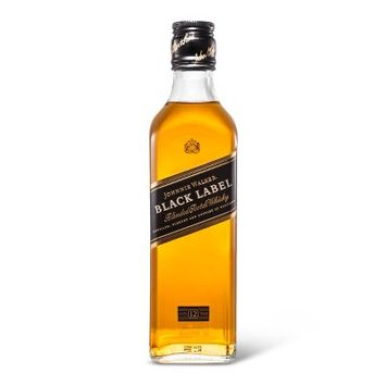 Johnnie Walker Black Label Scotch Whisky - 375ml Bottle