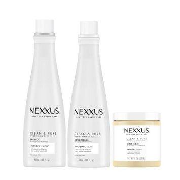 Nexxus Clean & Pure Regimen Shampoo & Conditioner Bundle