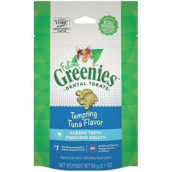 FELINE GREENIES™ Dental Treats Tempting Tuna Flavor