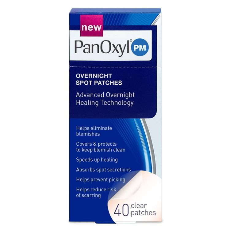 PanOxyl Overnight Spot Patches - 40ct