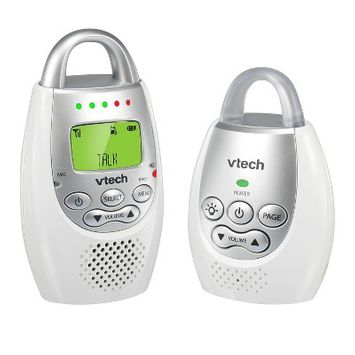 VTech Digital Audio Baby Monitor with Night Light and Talk Back Intercom - DM221