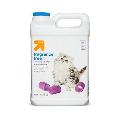 Up & Up Fragrance Free Scoopable Cat Litter - 20lb - Up&Up