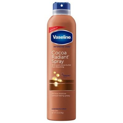 Vaseline Intensive Care Cocoa Radiant Spray Moisturizer 6.5 oz