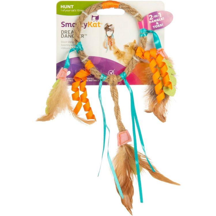 SmartyKat Cat Toy - Cat Catcher, Multi-Colored