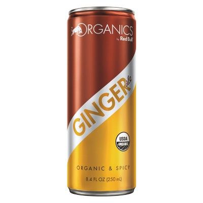 Red Bull Organics Ginger Ale Energy Drink - 8.4 fl oz Can