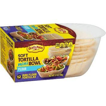 Old El Paso 12 Soft Flour Tortilla Bowls