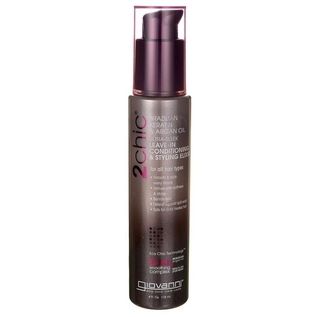 2chic Ultra-Sleek Leave-In Conditioning + Styling Elixir