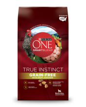 Purina ONE�� SmartBlend�� True Instinct Grain-Free Formula with Real Chicken Dry Dog Food