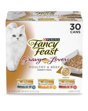 Fancy Feast® Gravy Lovers™ Poultry & Beef Wet Cat Food Variety Pack