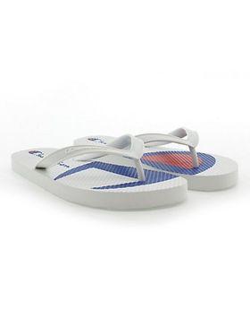 Champion Life™ Men's Flip Flops Split C Logo, White