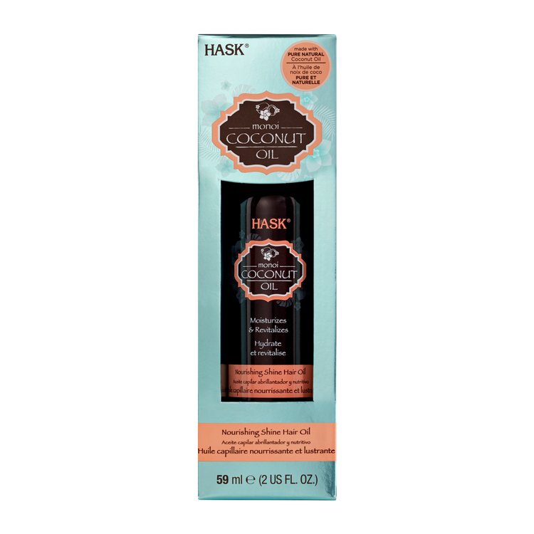 Hask Monoi Coconut Oil Nourishing Shine Hair Oil - 2.0 oz