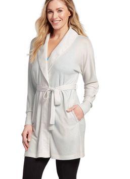Jockey�� Lightweight Fleece Shawl Collar Robe