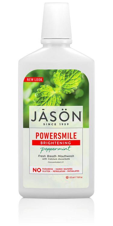 Jāsön Powersmile® Brightening Peppermint Fresh Breath Mouthwash