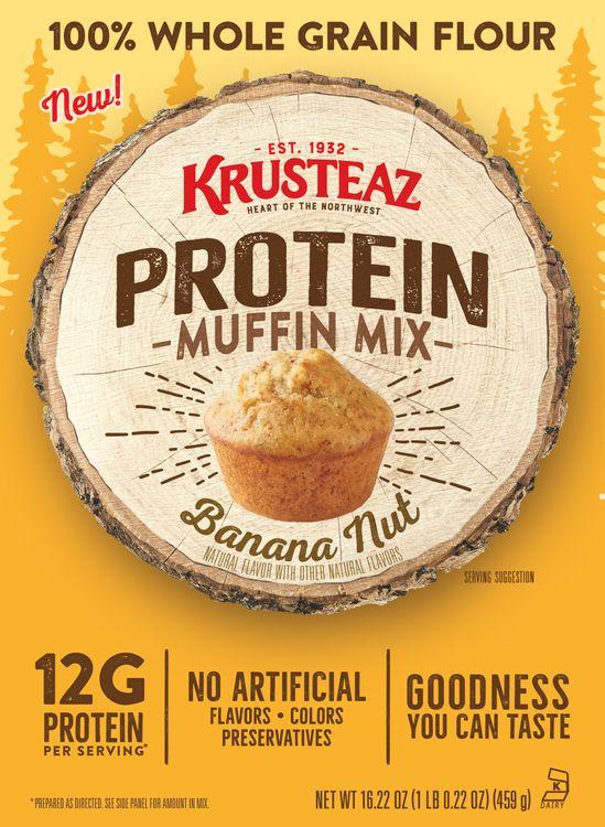 Krusteaz Protein Banana Nut Muffin