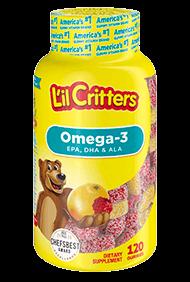 L'Il Critters® Omega-3 Dha