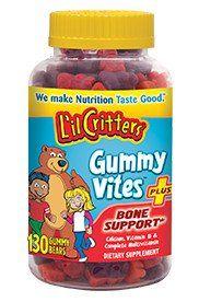 L'Il Critters® Gummy Vites™ Plus Bone Support
