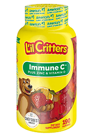 L'Il Critters® Immune C™ Plus Zinc And Vitamin D