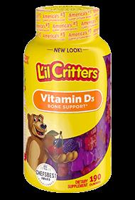 L'Il Critters® Vitamin D3