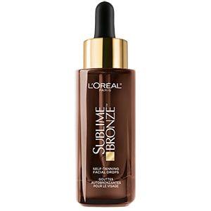 L'Oreal Paris Sublime Bronze™ Self-Tanning Facial Drops, Fragrance-Free