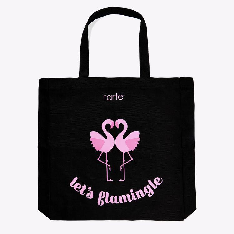 tarte™ let's flamingle tote bag