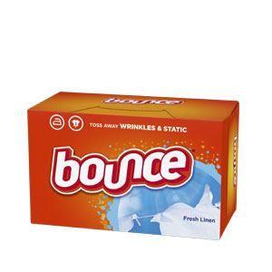 Bounce® Fresh Linen Fabric Softener Dryer Sheets