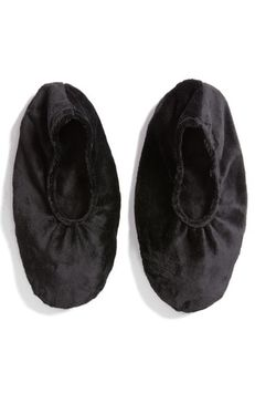Sonoma Lavender Solid Black Footies, Size One Size - No Color