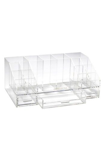 Impressions Vanity Co. Acrylic Brush & Makeup Organizer, Size One Size - Clear