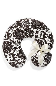 Sonoma Lavender Black Damask Neck Pillow