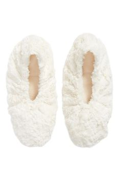 Sonoma Lavender Faux Shearling Footies