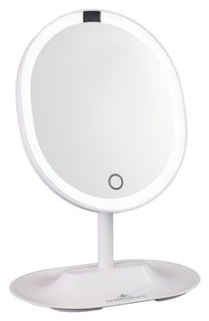 Impressions Vanity Co. Pearl Dual Travel Led Makeup Mirror, Size One Size - White