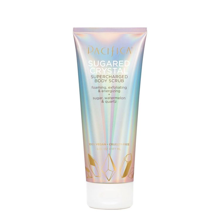 Pacifica Beauty Sugared Crystal Supercharged Body Scrub