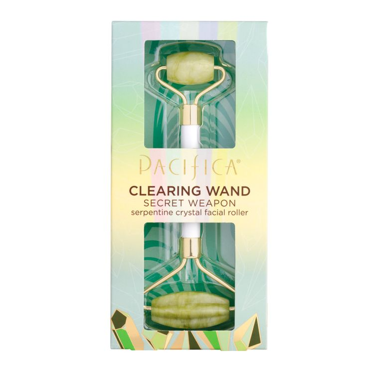 Pacifica Beauty Clearing Wand Secret Weapon Serpentine Crystal Facial Roller