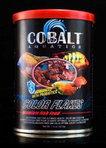 Cobalt Aquatics Color Flakes for Pets, 5 oz
