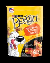 Beggin' Dog Treats With Bacon & Cheese Flavor