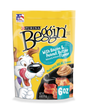 Beggin With Bacon And Peanut Butter Flavor Dog Treats