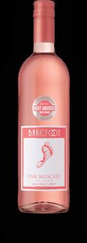 Barefoot Cellars Pink Moscato 4 Single Serve 187ml Bottles