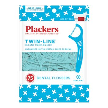 Plackers Twin-Line Flossers