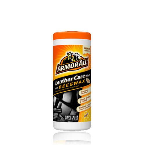 Armor All® Leather Care Wipes with Beeswax