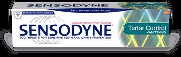 Sensodyne Tartar Control Plus Whitening Toothpaste