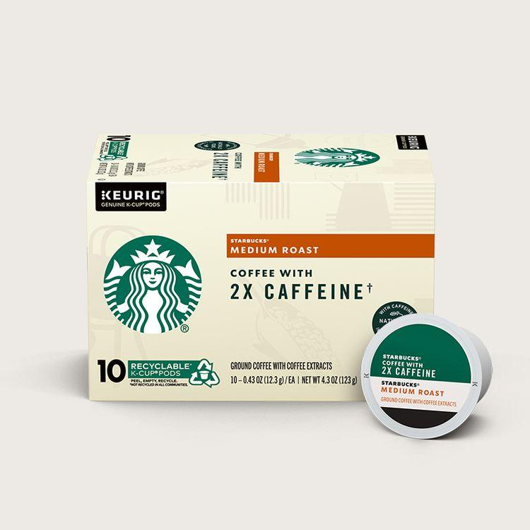 Starbucks® Medium Roast Coffee With 2X Caffeine